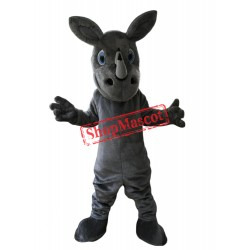 Friendly Rhino Mascot Costume
