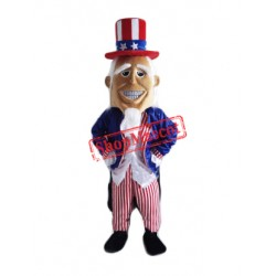 Uncle Sam Mascot Costume