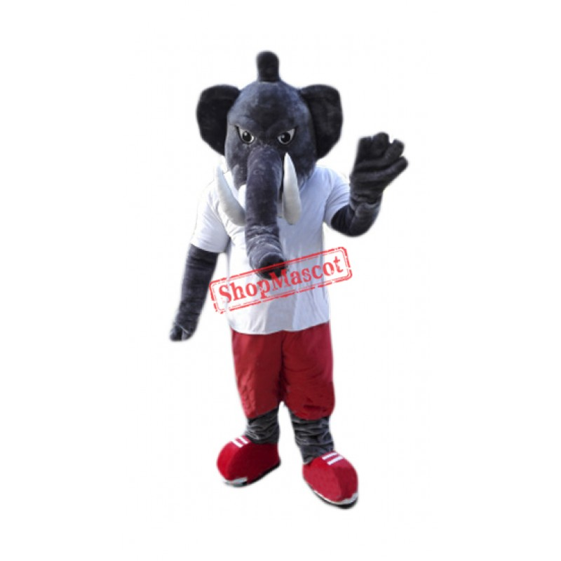 Power Elephant Mascot Costume Free Shipping