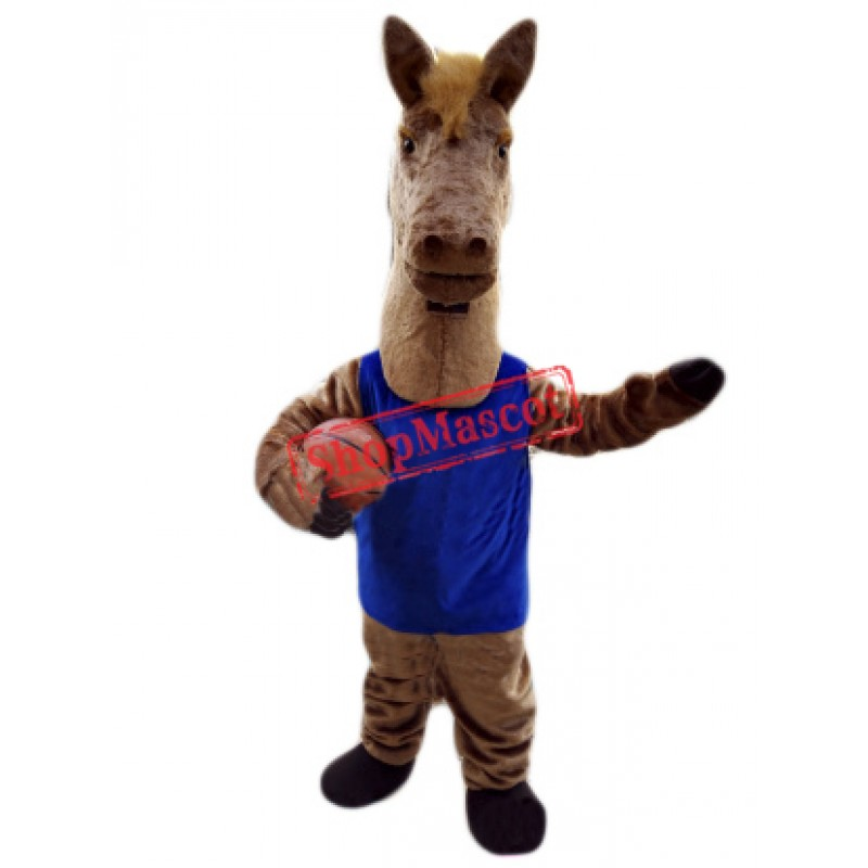 Basketball Horse Mascot Costume Free Shipping