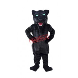 Cheap Black Panther Mascot Costume