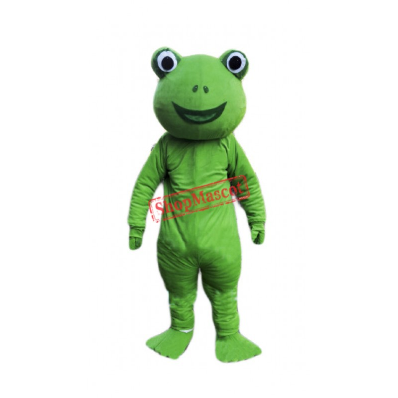 Cheap Green Frog Mascot Costume