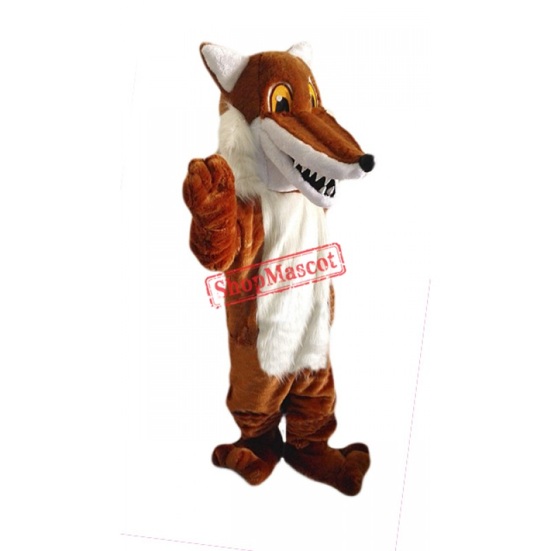 Cheap Red Fox Mascot Costume