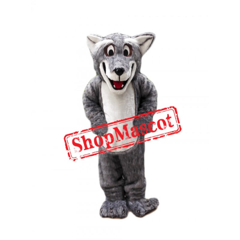 Plush Coyote Wolf Mascot Costume