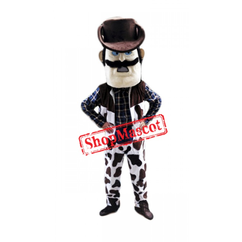 Power Cowboy Mascot Costume