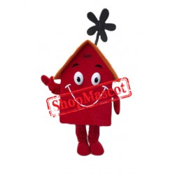 Red House Mascot Costume