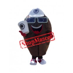 Coffee Bean Mascot Costume