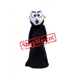 Black Devil Monster Mascot Costume