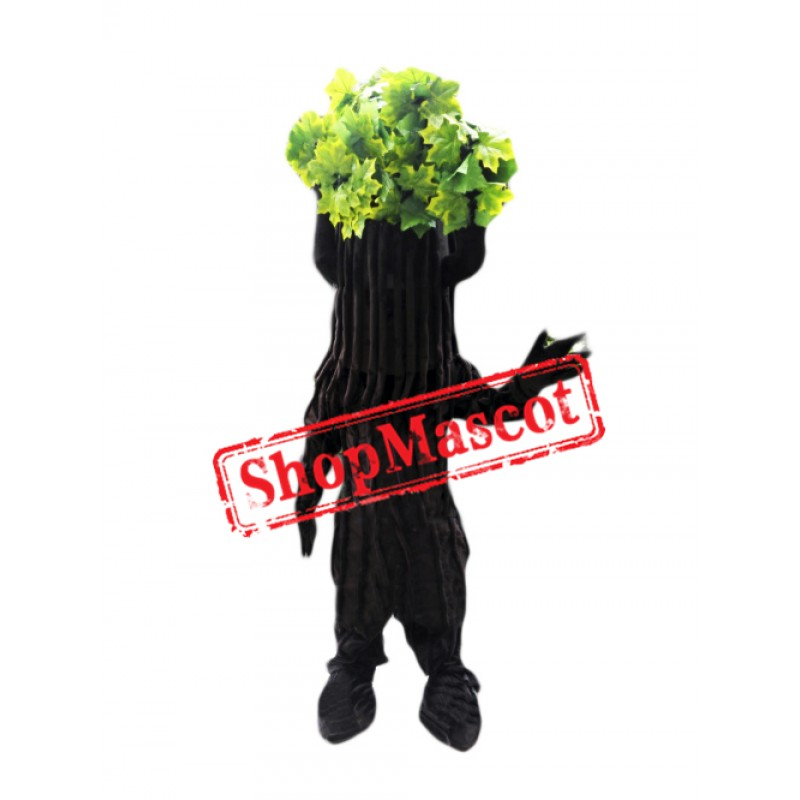 Green Tree Mascot Costume