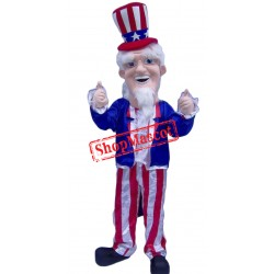 High Quality Uncle Sam Mascot Costume