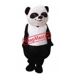Cute Lightweight Panda Bear Mascot Costume