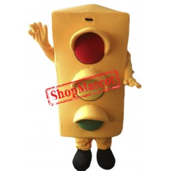 Traffic Light Mascot Costume