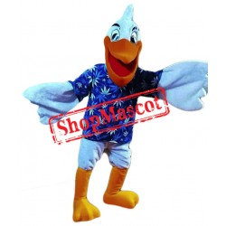Happy Lightweight Pelican Mascot Costume