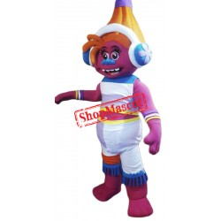 High Quality DJ Suki Troll Mascot Costume