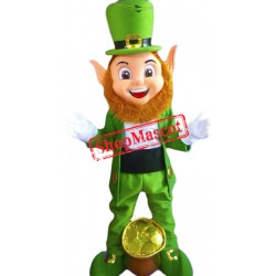 High Quality Leprechaun Mascot Costume