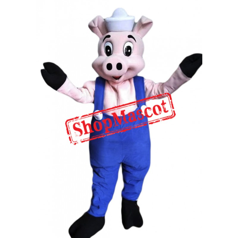 Cute Little Pig Mascot Costume