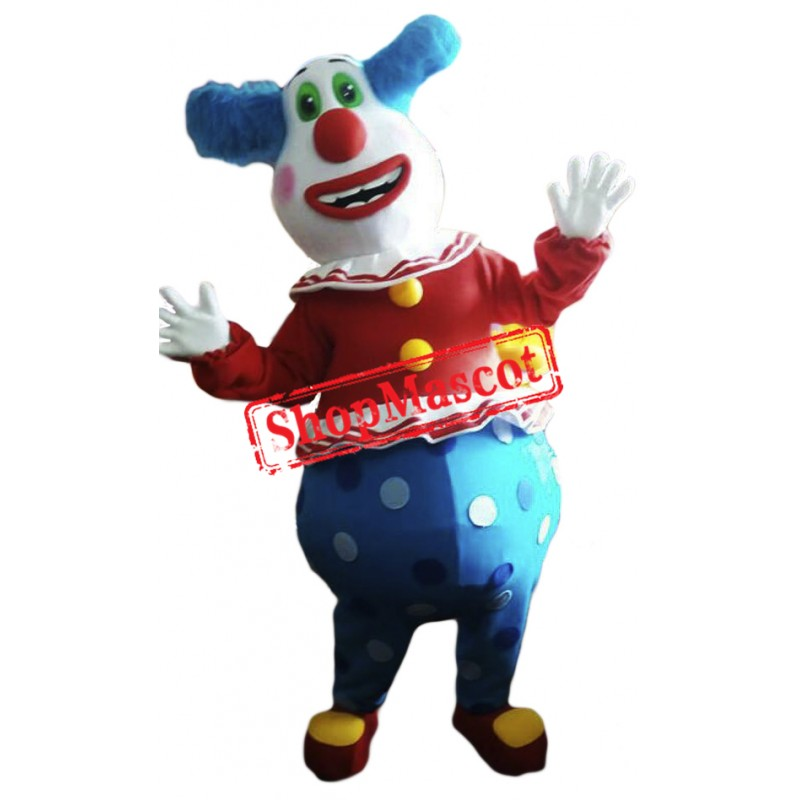 High Quality Clown Mascot Costume Free Shipping