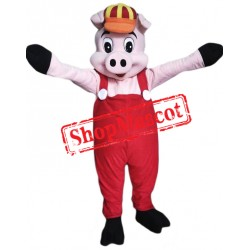 Happy Little Pig Mascot Costume
