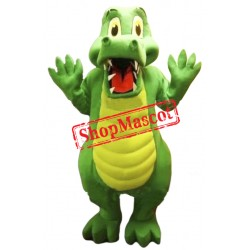 Amazing Quality Alligator Mascot Costume