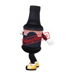 Black Bottle Mascot Costume