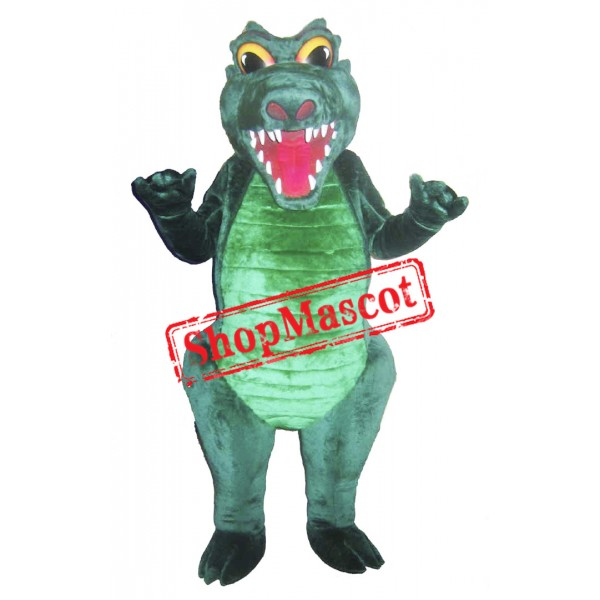 Fierce Crocodile Mascot Costume Free Shipping
