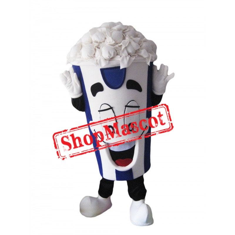 Happy Lightweight Popcorn Mascot Costume