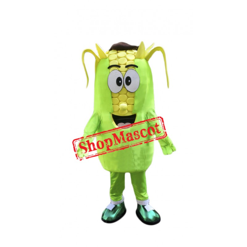 Happy Corn Mascot Costume Free Shipping