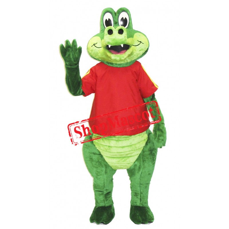 Friendly Crocodile Mascot Costume