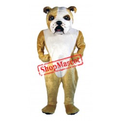 Cute Lightweight Bulldog Mascot Costume Free Shipping