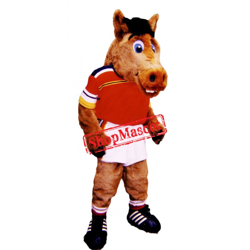 Sport Lightweight Horse Mascot Costume Free Shipping