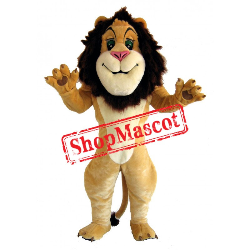 Happy Lightweight Lion Mascot Costume Free Shipping