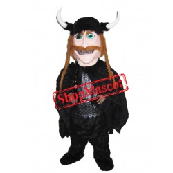 Happy Lightweight Viking Mascot Costume