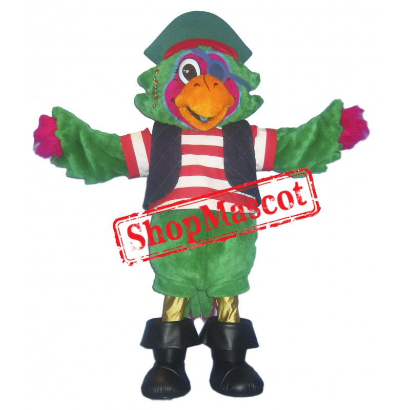 Happy Lightweight Parrot Mascot Costume