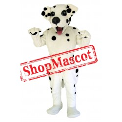 Happy Dalmation Dog Mascot Costume