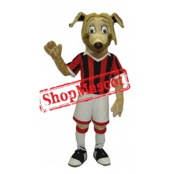 Football Dog Mascot Costume Free Shipping