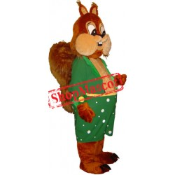 Happy Lightweight Squirrel Mascot Costume Free Shipping