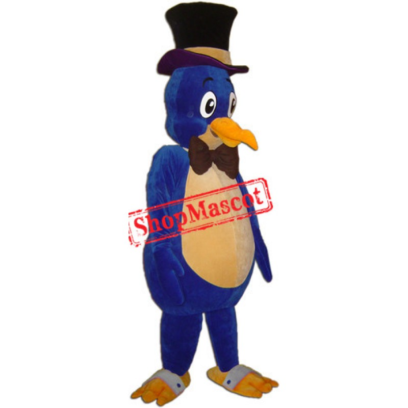 Blue Bird Mascot Costume Free Shipping