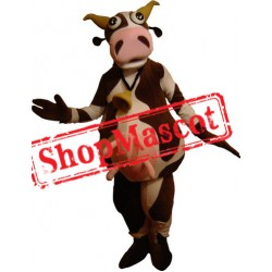 Funny Lightweight Cow Mascot Costume