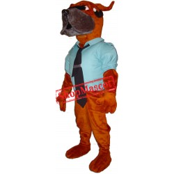 High Quality Police Dog Mascot Costume Free Shipping