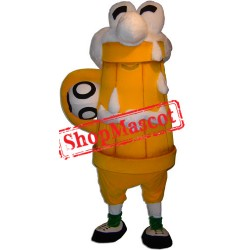 Glass of Beer Mascot Costume