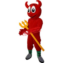 Happy Lightweight Devil Mascot Costume
