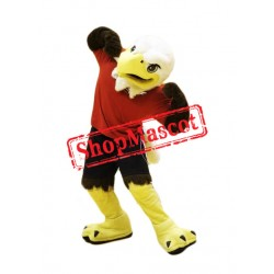 Sporty Eagle Mascot Costume