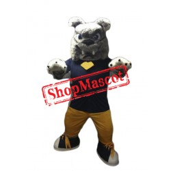 Power Furry Bulldog Mascot Costume