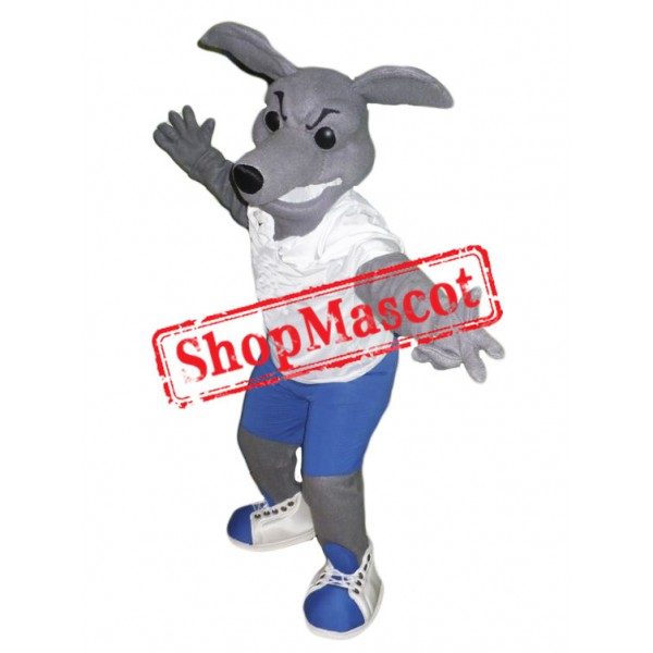 High Quality Greyhound Dog Mascot Costume