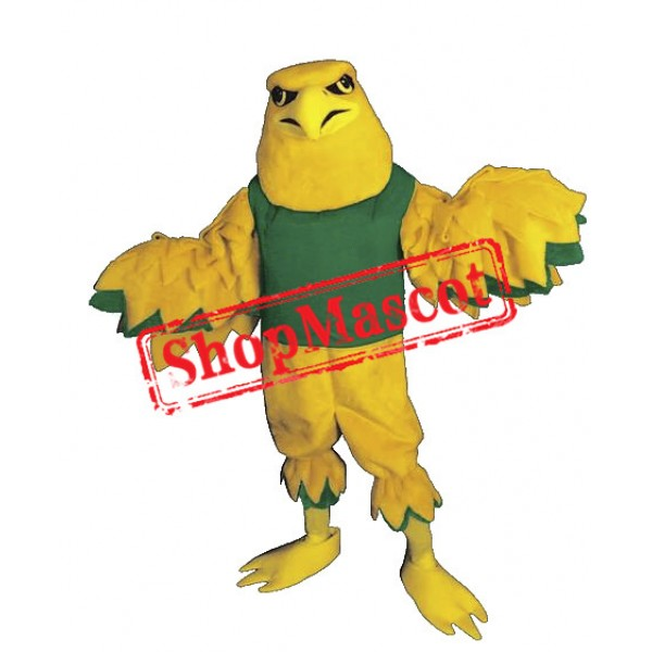 Yellow Eagle Mascot Costume
