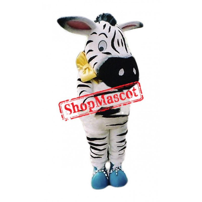 Cute Little Zebra Mascot Costume