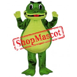 Friendly Lightweight Frog Mascot Costume Free Shipping