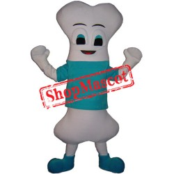 Happy Lightweight Bone Mascot Costume