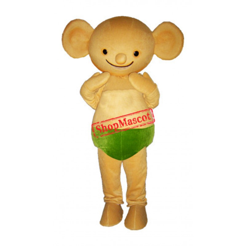 Yellow Koala Mascot Costume