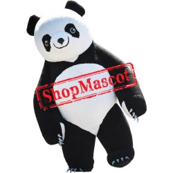 Cute Lightweight Panda Mascot Costume